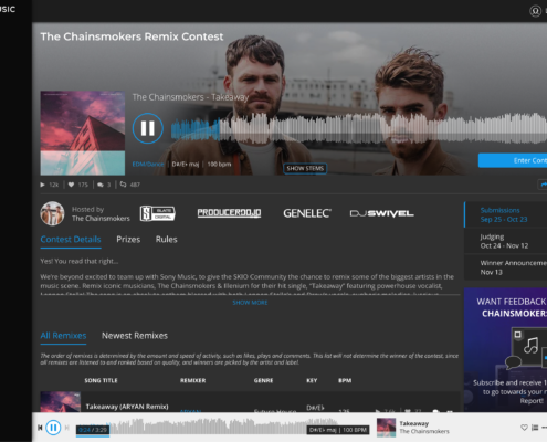 remix contest chainsmokers